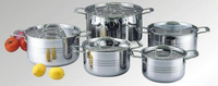 10pcs stainless steel pasta cooking pot
