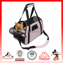 Soft Sided Pet Carrier Airline Travel Cat/Dog Small Animals Tote Bag