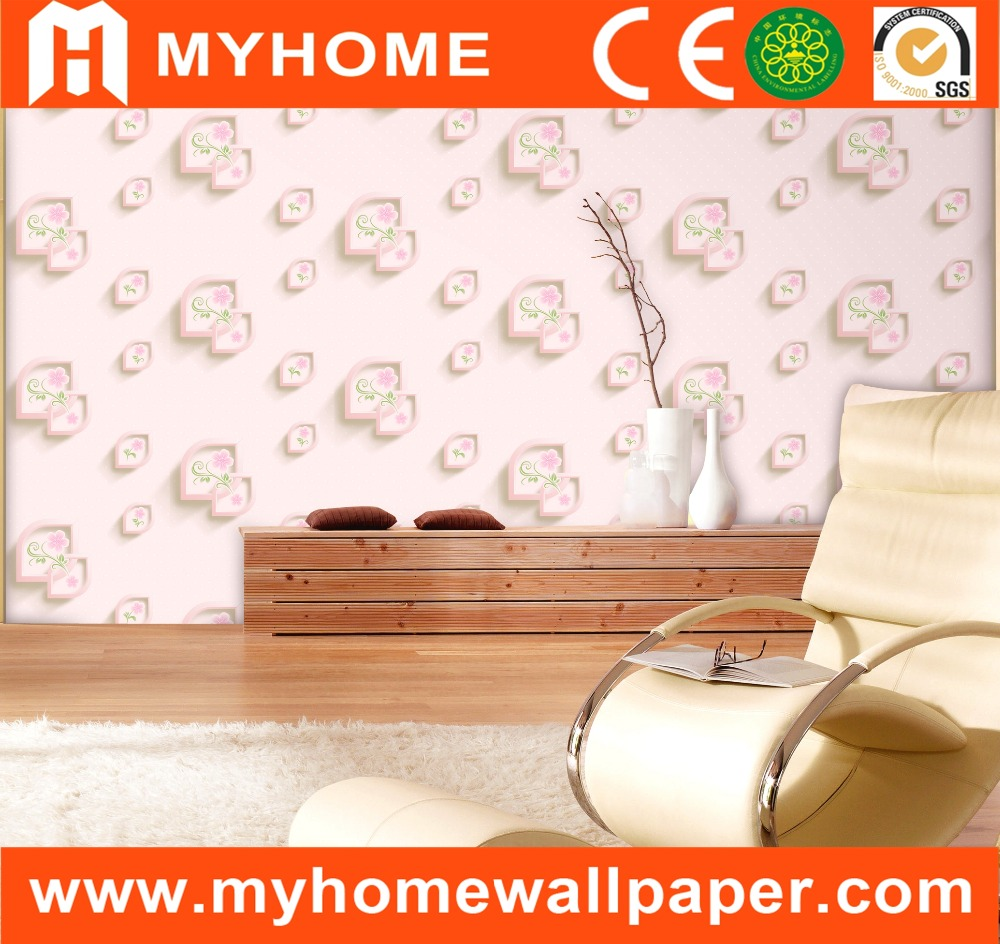 economic holographic wallpaper for bedroom