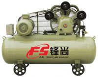 10.0HP 900L/min portable Configuration belt Driven Air Compressor