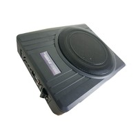 Factory wholesale slim active subwoofer 10 inch