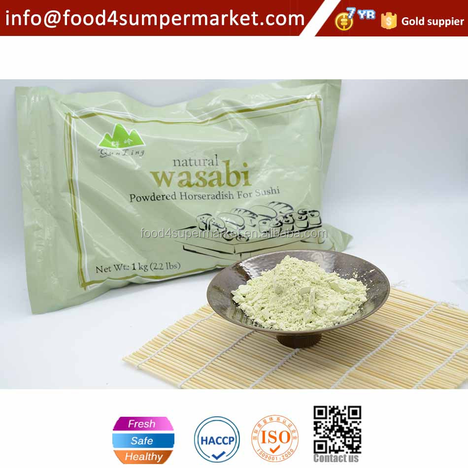 Flavorful wasabi and best-selling wasabi powder