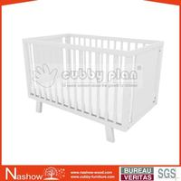 Cubby Plan LMBC-071 New Design High Quality New Zealand Pine Wood Baby Cot Bed