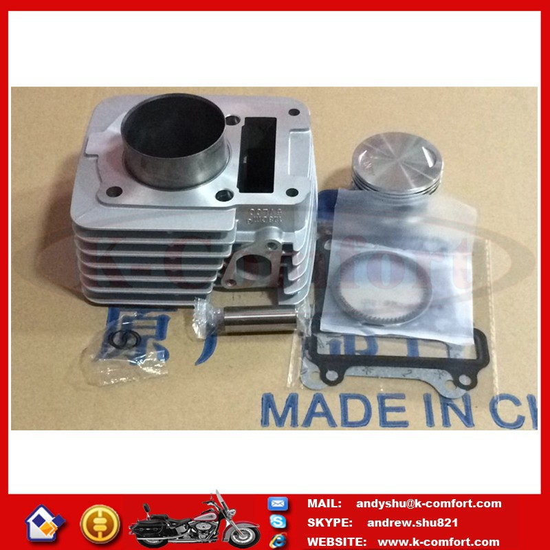 KCM426 Motorcycle cylinder YBR125 Change 150cc Bore diameter 57mm stroke 54mm piston pin diameter 15mm