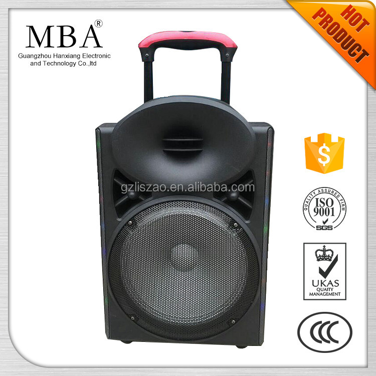 Active sound music system speaker built in amplifier with usb port