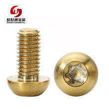Alibaba Top Quality Stainless Steel Aluminum Titanium Copper Carbon Steel Iron Torx Socket Head Cap Screw