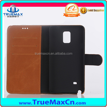 Popular mobile phone/cell phone/leather/back cover case for Galaxy Note 4 with card