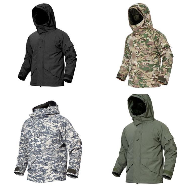 G8 Military fleece jacket  outdoor waterproof Jacket tactical winter  jacket