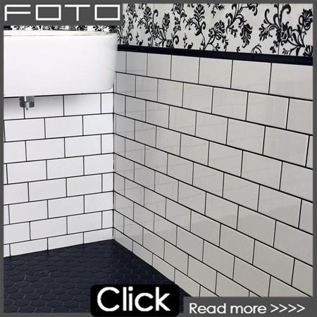Weiß U Bahn Glasmosaik Fliesen Für Bad, Küche, Backsplash