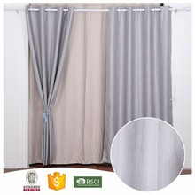 2017 China Manufacturers PY1720 Blue Hotel Blackout Curtain
