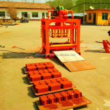 QT4-40 brick concrete hollow block making machine sale in kenya,block making machine