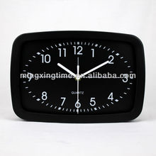 fashion square metal high quality table clock of good sell