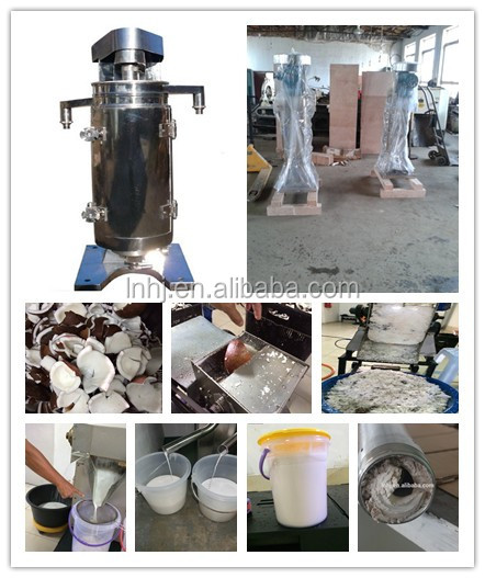 virgin coconut oil centrifuge separator machine with factory price