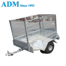 Small HDG ATV Box Trailer with Cage