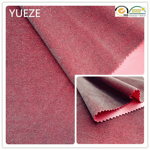 100% polyester brushed inclined korea fabric for garment