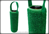 new style neoprene grass can cooler , can coozie, beer cooler with rolling up stainless steel