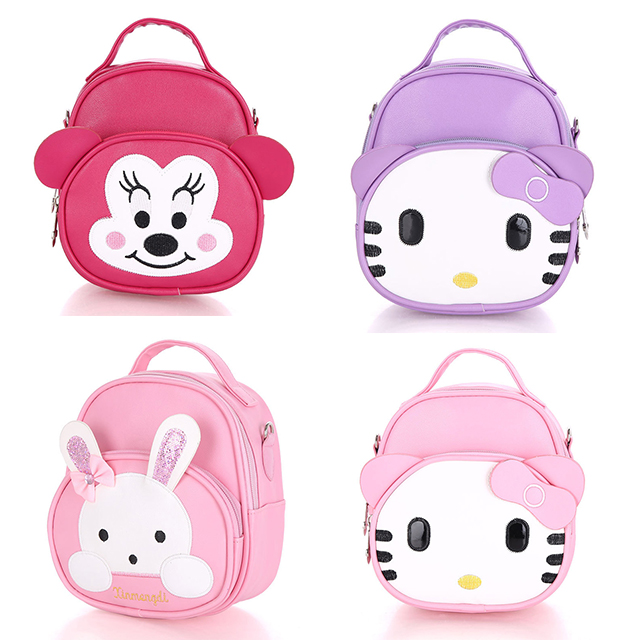 Lovely Cartoon Rabbit Backpack Japanese Women Female Cute Canvas Large Capacity School Bag