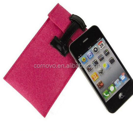 Hand Made wool felt Mobile Phone Case For Iphone 6 6S Accessories
