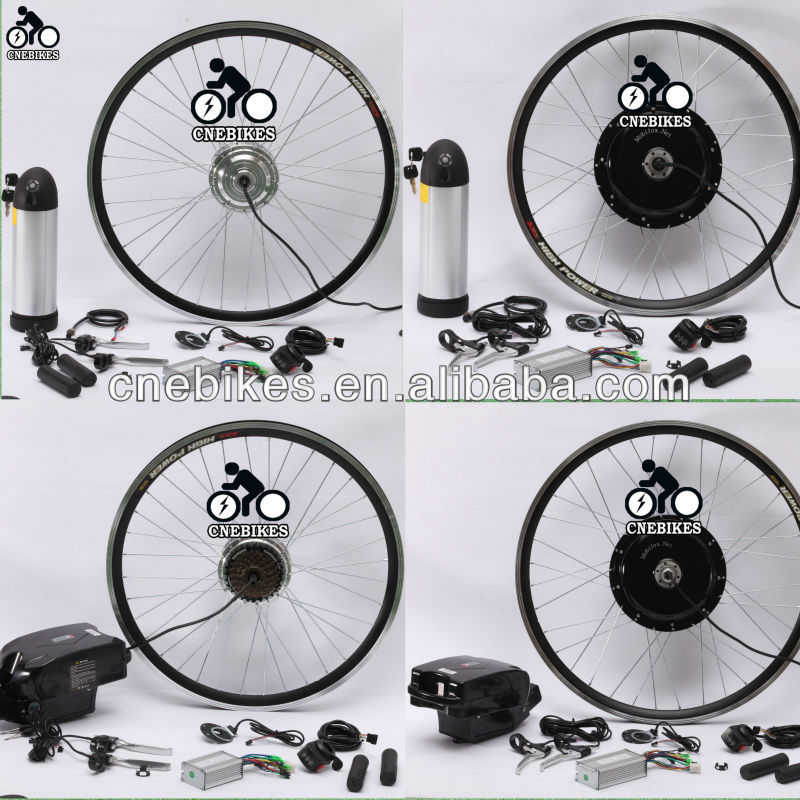 48V 1000W ebike kits waterproof ebike electric bike kit china