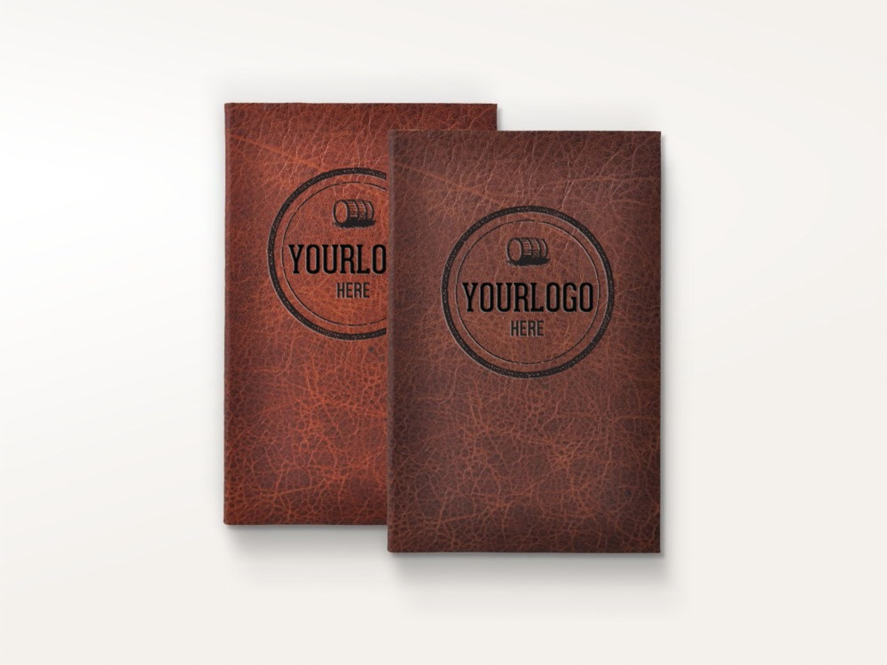 Order your custom notebooks with free logo diy leather journal , rustic buffalo hide leather journal OEM