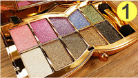 free shipping Makeup kit 10 colors palette eyeshadow new fashion mix-colors eyeshadow