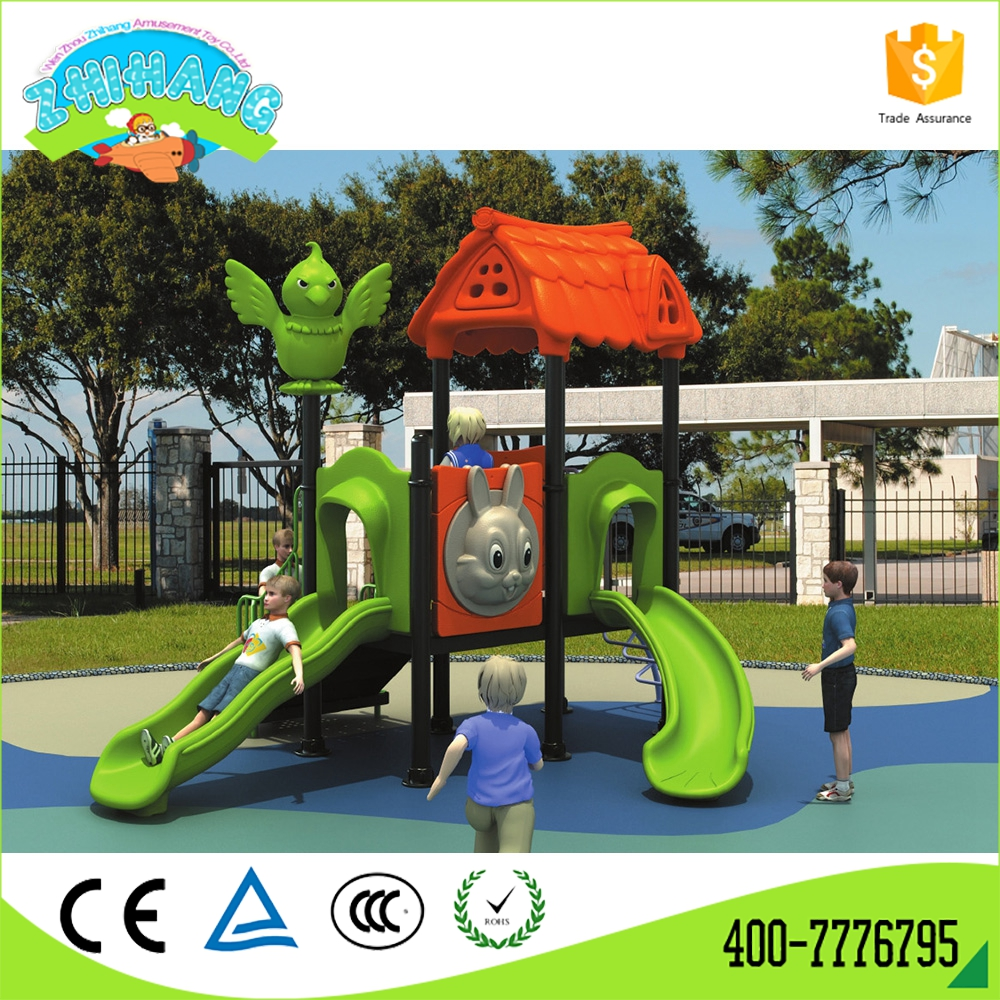Park equipment playground curved slide can custom size
