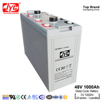 Battery 2 volt 1000Ah 24S1P Formed 48 volt 48V 1000Ah Telecom Solar System Deep Cycle Battery