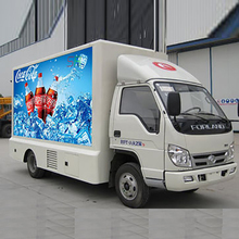 maxv free shipping smd full color outdoor led billboard truck advertising screens led poster for cars
