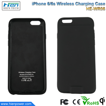 2016 New product Qi Wireless Charging phone charger case for iPhone 6