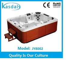 Luxury Whirlpool Massage Hot Tubs with best price with skimmer JY8002