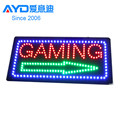 Hot Selling High Quality Outdoor Open LED Logo Sign LED Programmable Sign Display Board