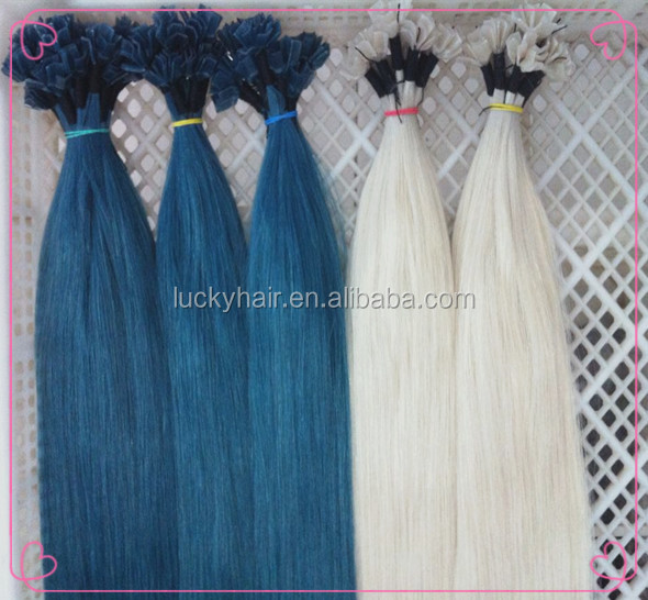 Factory cheap price virgin human hair for white people white remy hair extensions