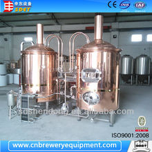 Copper brewery equipment, 10hl brewery equipment