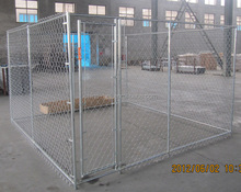 Metal frame Galvanized Chain Link Dog Kennel pens