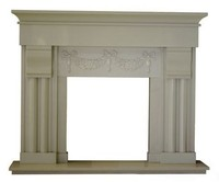 Fake stone fireplace/ high density anti-fading artificial marble stone fireplace