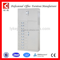 white medical a1 size files short metal drawings filing cabinets/lateral extra wide five shallow drawers cupboard