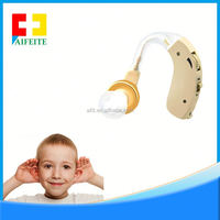 Mini Hearing Enhancement System with 5 Levels of Volume Control (Batteries Included)