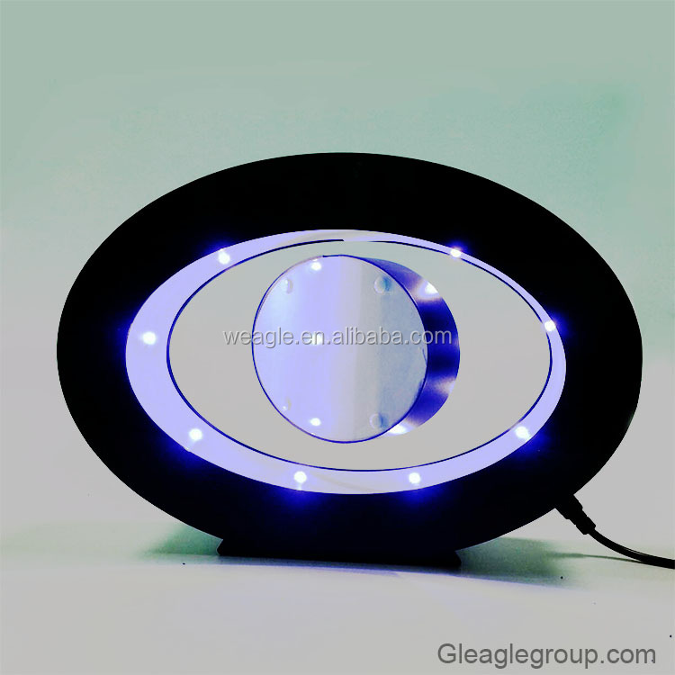 Hover lamp led bottle display led magnetic levitation floating globe