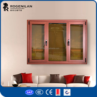 ROGENILAN 45 series aluminium european style windows for homes modern