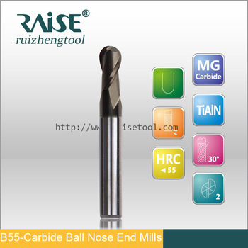 Carbide Ball End Milling Cutter