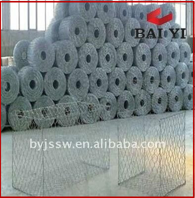 Gabion Box Mesh/Hexagonal Gabion Mesh Triple Twist