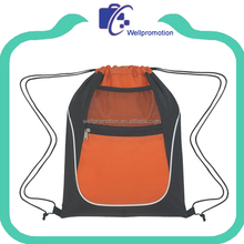 Sport Drawstring Backpack, Cinch Sack Pack, Travel School Kids Bag