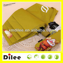 snow white role gift beautiful yellow mini umbrella