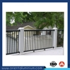 Weifang aluminium fence retractable fence gate steel tube fence panels