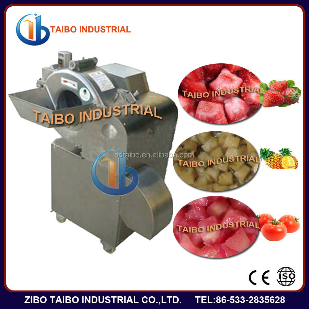 industrial electric vegetable Dicer for tomato potato onion