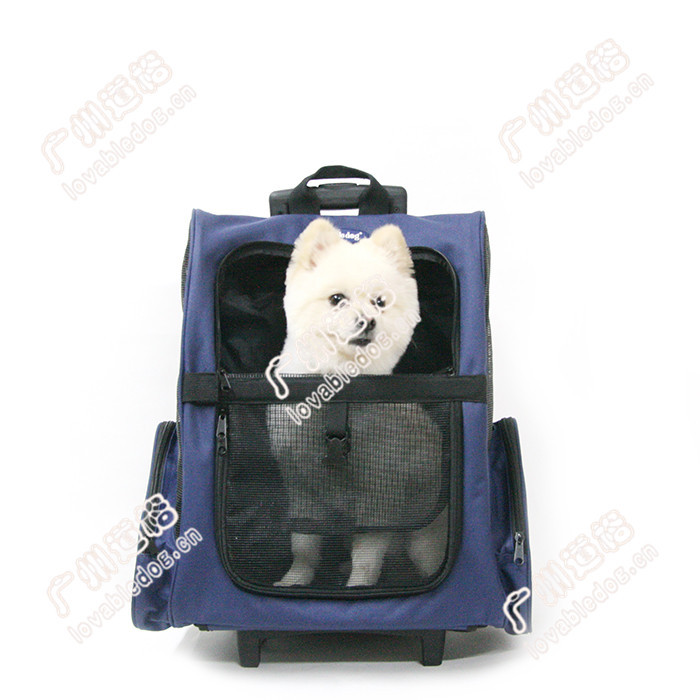 New pet products dog travel carrier bags breathable mesh dog travel case