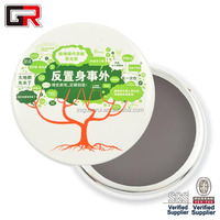 We Make Custom tinplate magnetic promotion tin button badge