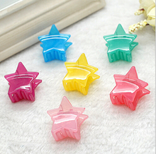 Summer small lovely jelly bear children claw clip wholesale