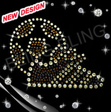 Bling custom hotfix soccer mom rhinestone transfers
