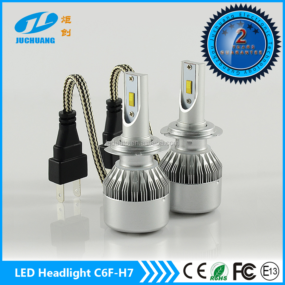 New arrival!!! 6000K Car h7 high power led car best headlight toyota headlight C6F